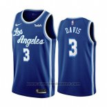 Maglia Los Angeles Lakers Anthony Davis #3 Classic 2019-20 Blu