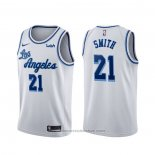 Maglia Los Angeles Lakers J.r. Smith #21 Classic 2020 Bianco