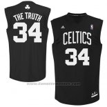 Maglia Soprannome Boston Celtics The Truth #34 Nero