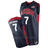 Maglia USA 2012 Russell Westbrook #7 Nero