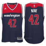 Maglia Washington Wizards Nene #42 Blu
