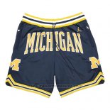 Pantaloncini Air Jordan Just Don NCAA Michigan Blu