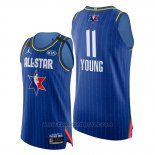 Maglia All Star 2020 Eastern Conference Trae Young #11 Blu