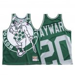 Maglia Boston Celtics Gordon Hayward #20 Mitchell & Ness Big Face Verde