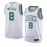Maglia Boston Celtics Kemba Walker #8 Association 2019-20 Bianco
