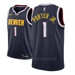 Maglia Denver Nuggets Michael Porter Jr. #1 Icon 2018-19 Blu
