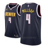 Maglia Denver Nuggets Paul Millsap #4 Icon 2018-19 Blu