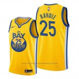Maglia Golden State Warriors Chasson Randle #25 Statement 2020 Giallo