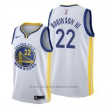 Maglia Golden State Warriors Glenn Robinson III #22 Association Bianco