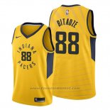 Maglia Indiana Pacers Goga Bitadze #88 Statement Or