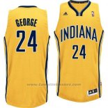 Maglia Indiana Pacers Paul George #24 Giallo