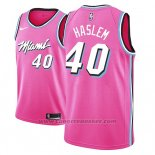 Maglia Miami Heat Udonis Haslem #40 Earned 2018-19 Rosa