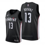 Maglia Washington Wizards Thomas Bryant #13 Citta Edition Nero