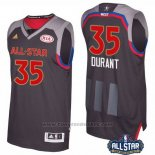 Maglia All Star 2017 Golden State Warriors Kevin Durant #35 Nero