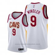 Maglia Cleveland Cavaliers Dylan Windler #9 Association 2019-20 Bianco