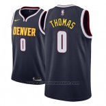Maglia Denver Nuggets Isaiah Thomas #0 Icon 2018-19 Blu