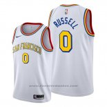 Maglia Golden State Warriors D'angelo Russell #0 Classic Edition Bianco