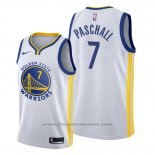 Maglia Golden State Warriors Eric Paschall #7 Association Bianco