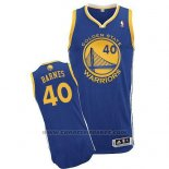 Maglia Golden State Warriors Harrison Barnes #40 Blu