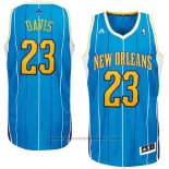 Maglia Historic New Orleans Hornets Anthony Davis #23 Blu
