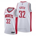 Maglia Houston Rockets Jeff Green #32 Association 2019-20 Bianco