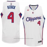 Maglia Los Angeles Clippers JJ Redick #4 Bianco