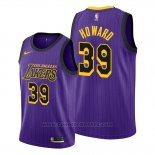 Maglia Los Angeles Lakers Dwight Howard #39 Citta Viola