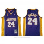 Maglia Los Angeles Lakers Kobe Bryant #24 2009 Finals Viola
