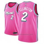 Maglia Miami Heat Wayne Ellington #2 Earned 2018-19 Rosa