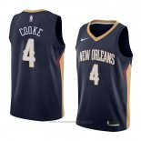 Maglia New Orleans Pelicans Charles Cooke #4 Icon 2018 Blu