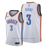 Maglia Oklahoma City Thunder Chris Paul #3 Association Bianco