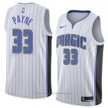 Maglia Orlando Magic Adreian Payne #33 Association 2018 Bianco