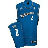 Maglia Washington Wizards John Wall #2 Retro Blu