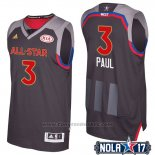 Maglia All Star 2017 Los Angeles Clippers Chris Paul #3 Nero