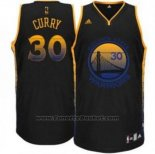 Maglia Ambiente Golden State Warriors Stephen Curry #35 Nero