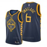 Maglia Golden State Warriors Alen Smailagic #6 Citta Blu