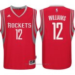 Maglia Houston Rockets Troy Williams #12 Rosso
