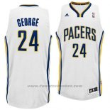 Maglia Indiana Pacers Paul George #24 Bianco