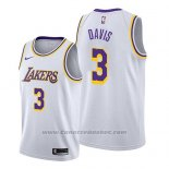 Maglia Los Angeles Lakers Anthony Davis #3 Association 2019 Bianco