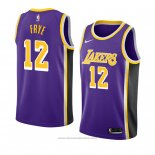 Maglia Los Angeles Lakers Channing Frye #12 Statement 2018-19 Viola