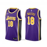 Maglia Los Angeles Lakers Dion Waiters #18 Statement Viola