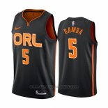 Maglia Orlando Magic Mohamed Bamba #5 Citta Edition Nero2