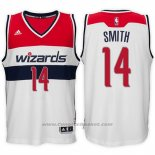 Maglia Washington Wizards Jason Smith #14 Bianco