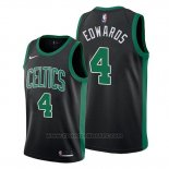 Maglia Boston Celtics Carsen Edwards #4 Statement 2019-20 Nero