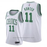 Maglia Boston Celtics Enes Kanter #11 Association Bianco