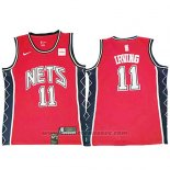 Maglia Brooklyn Nets Kyrie Irving #11 Retro Rosso