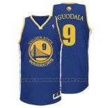 Maglia Golden State Warriors Andre Iguodala #9 Blu