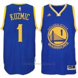 Maglia Golden State Warriors Ognjen Kuzmic #1 Blu