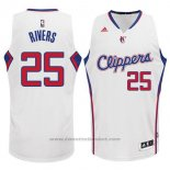 Maglia Los Angeles Clippers Austin Rivers #25 Bianco