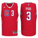 Maglia Los Angeles Clippers Chris Paul #3 Rosso
